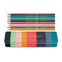 Kredki CARAN D'ACHE Supracolor Soft Paul Smith #3, sześciokątne, 8szt., mix kolorów, Plastyka, Artykuły szkolne