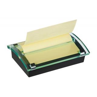 Podajnik do bloczków samoprzylepnych POST-IT® Millenium Z-Notes (C2015), czarny, 1 bloczek GRATIS