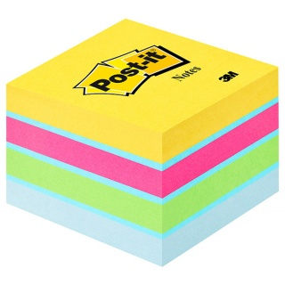 Mini Kostka samoprzylepna POST-IT® (2051-U), 51x51mm, 1x400 kart., ultra