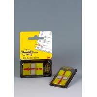 """Zakładki indeksujące POST-IT® z nadrukiem """"wykrzyknik"""" (680-33), PP, 25x43mm, 50 kart., Bloczki samoprzylepne, Papier i etykiety"""