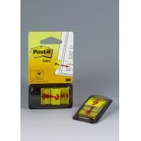 """Zakładki indeksujące POST-IT® z nadrukiem """"znak zapytania"""" (680-32R), PP, 25x43mm, 50 kart., Bloczki samoprzylepne, Papier i etykiety"""