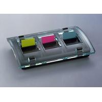 Podajnik do zakładek indeksujących POST-IT® (C-2011), czarny, 3 zakładki GRATIS, Bloczki samoprzylepne, Papier i etykiety