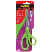 Office Scissors SCOTCH® (14075-MI), for students, 18cm, assorted colours