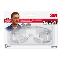 Okulary ochronne 3M Clear Visitor, transparentne, Okulary, Ochrona indywidualna
