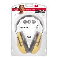 Nauszniki na głowę Peltor™ Optime™ I (H510A) żółte, Nauszniki, Ochrona indywidualna