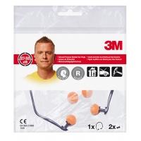 Opaska z zatyczkami do uszu 3M E-A-R™ (1310), Zatyczki, Ochrona indywidualna