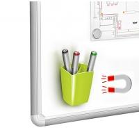Przybornik magnetyczny CEP Pro GLOSS, zielony, Przyborniki na biurko, Drobne akcesoria biurowe