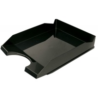 Desktop Letter Tray OFFICE PRODUCTS, polystyrene/PP, A4, black