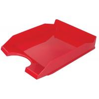 Szufladka na biurko OFFICE PRODUCTS, polistyren/PP, A4, czerwona, Szufladki na biurko, Drobne akcesoria biurowe