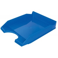 Desktop Letter Tray OFFICE PRODUCTS, polystyrene/PP, A4, blue