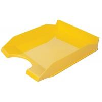 Szufladka na biurko OFFICE PRODUCTS, polistyren/PP, A4, żółta, Szufladki na biurko, Drobne akcesoria biurowe