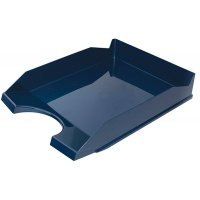 Desktop Letter Tray OFFICE PRODUCTS, polystyrene/PP, A4, navy blue