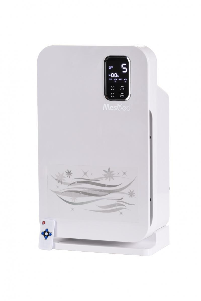 Oczyszczacz powietrza MES-MED MM-706 ILMAA, z funkcją jonizacji i filtrem antybakteryjnym, biały, Antywirus