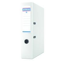 Segregator DONAU Premium-S, PP, A4/75mm, biały, Segregatory polipropylenowe, Archiwizacja dokumentów