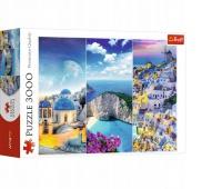 """PUZZLE """"3000 - Greckie wakacje"""" / Tr, Podkategoria, Kategoria"""