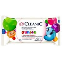 Chusteczki odświeżające CLEANIC Junior, 24szt., Akcesoria do sprzątania, Artykuły higieniczne i dozowniki