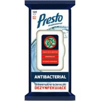 Uniwersalne ściereczki dezynfekujące PRESTO 2w1, 120szt., białe, Akcesoria do sprzątania, Artykuły higieniczne i dozowniki