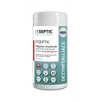 Chusteczki czyszcząco-dezynfekujące ITSEPTIC, duża tuba, 100szt., Akcesoria do sprzątania, Artykuły higieniczne i dozowniki