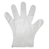 Rękawice ochronne, foliowe, HDPE, 100szt., transparentne, Rękawice, Ochrona indywidualna
