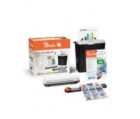 Zestaw 4 w 1 PEACH PBP220, niszczarka, laminator, trymer oraz folia do laminowania, Niszczarki, Urządzenia i maszyny biurowe