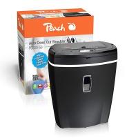 Niszczarka PEACH PS500-50, do 75 k., czarna, Niszczarki, Urządzenia i maszyny biurowe