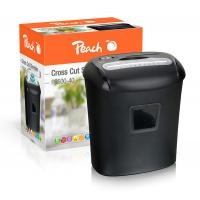 Niszczarka PEACH PS500-40, 21l, czarna, Niszczarki, Urządzenia i maszyny biurowe