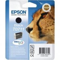 Epson Tusz Stylus D78 T0711 Black 7,4ml, Tusze, Materiały eksploatacyjne