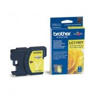 Brother Tusz LC1100 Yellow, Tusze, Materiały eksploatacyjne