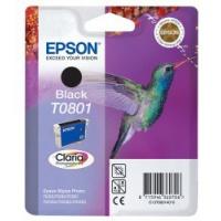 Epson Tusz Claria R265/360 T0801 Black 7,4ml, Tusze, Materiały eksploatacyjne