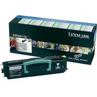Lexmark Toner X203/204 X203A11G 2,5K, Tonery, Materiały eksploatacyjne