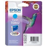 Epson Tusz Claria R265/360 T0802 Cyan 7,4ml, Tusze, Materiały eksploatacyjne