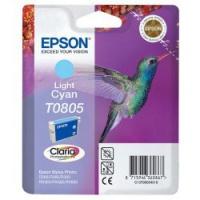Epson Tusz Claria R265/360 T0805 Light Cyan 7,4ml, Tusze, Materiały eksploatacyjne