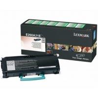 Lexmark Toner E26x E260A31E Black 3,5K, Tonery, Materiały eksploatacyjne