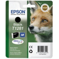 Epson Tusz Stylus SX425 T1281 Black 5,9ml, Tusze, Materiały eksploatacyjne