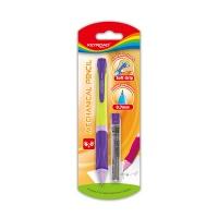 Ołówek KEYROAD Smoozy, automatyczny, 0,7mm, z grafitami, blister, mix kolorów, Ołówki, Artykuły do pisania i korygowania
