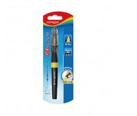 Długopis żelowy KEYROAD Smoozzy, 0,7mm., blister, mix kolorów, Żelopisy, Artykuły do pisania i korygowania