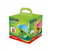 Temperówka KEYROAD, elektryczna, pojedyncza, pudełko, mix kolorów, Temperówki, Artykuły do pisania i korygowania, Temperówka