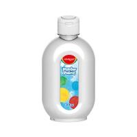 Farba plakatowa KEYROAD, 300ml, butelka, biała, Plastyka, Artykuły szkolne