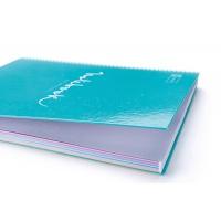 Kołozeszyt MIQUELRIUS Emotions, A4, 80 kart., 90g, błękitny, Zeszyty, Artykuły szkolne