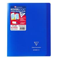 Zeszyt CLAIREFONTAINE Koverbook, A5+, francuska linia, 48 kart., 17x22cm, mix kolorów, Zeszyty, Artykuły szkolne