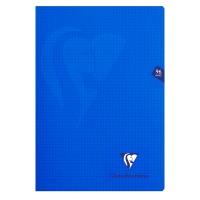 Zeszyt CLAIREFONTAINE Mimesys, w kratkę, 48 kart., 21x29,7cm, mix kolorów, Zeszyty, Artykuły szkolne