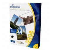 Papier fotograficzny MEDIARANGE, A4, 135gsm, błyszczący, 100ark.,, Papiery specjalne, Papier i etykiety