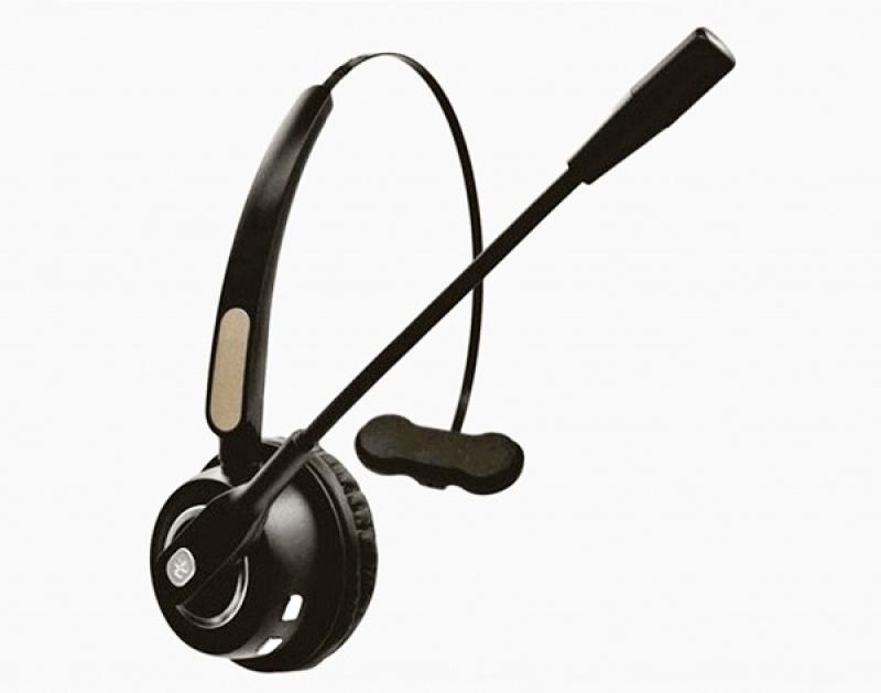 Słuchawki bezprzewodowe MEDIARANGE, z mikrofonem, czarno-szare, Słuchawki i zestawy słuchawkowe, Akcesoria komputerowe