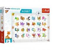 Puzzle 34 Edukacyjne - Alfabet, Podkategoria, Kategoria