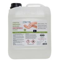 Płyn do dezynfekcji dłoni ITSEPTIC, 5000ml, Akcesoria do sprzątania, Artykuły higieniczne i dozowniki