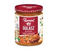 Gulasz wieprzowy dobrze doprawiony PAMAPOL, 500g, Dania gotowe, Artykuły spożywcze