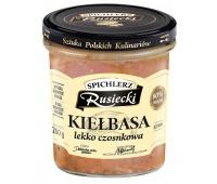 Kiełbasa lekko czosnkowa SPICHLERZ RUSIECKI, 280g, Dania gotowe, Artykuły spożywcze