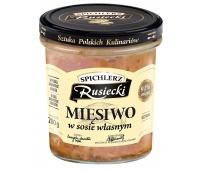 Mięsiwo w sosie własnym SPICHLERZ RUSIECKI, 280g, Dania gotowe, Artykuły spożywcze