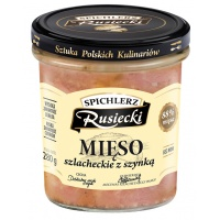 Mięso szlacheckie z szynką SPICHLERZ RUSIECKI, 280g, Dania gotowe, Artykuły spożywcze
