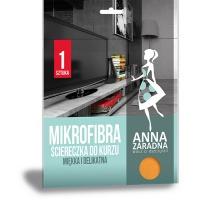 Mikrofibra ściereczka do kurzu ANNA ZARADNA, 1 szt., Akcesoria do sprzątania, Artykuły higieniczne i dozowniki